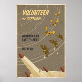 Cartel sexto de la propaganda del juego de arcada  póster