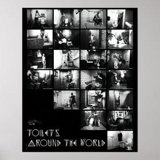 Cartel Toilets - Camarones trotones Póster