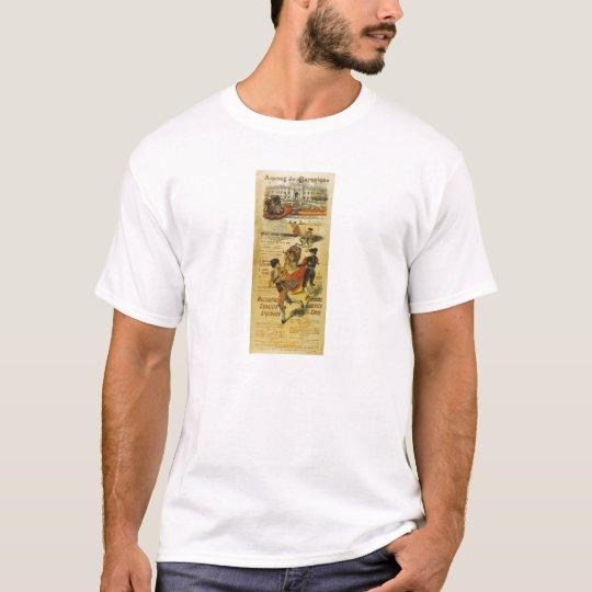 Cartel Toros Barcelona - Bullfighting Matador T-Shirt