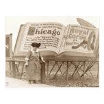 Cartelera de Chicago del vintage Postales