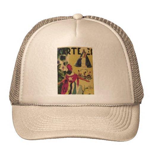 CARTELES VINTAGE MAGAZINE TRUCKER HATS
