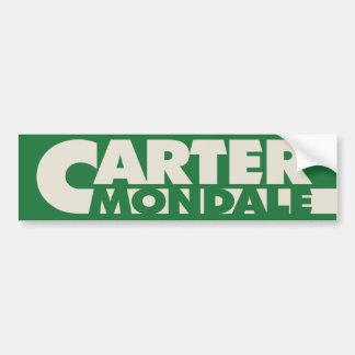 Carter 1976 Bumper Sticker