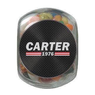 Carter 1976 (Jimmy Carter) Glass Jar