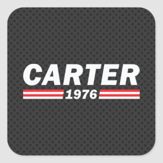 Carter 1976 (Jimmy Carter) Square Sticker