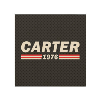 Carter 1976 (Jimmy Carter) Wood Wall Decor