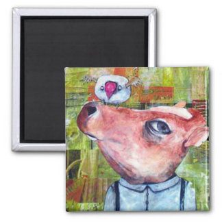 Carter 2 Inch Square Magnet