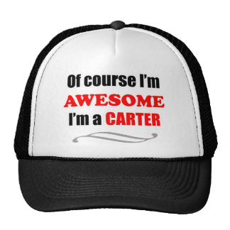 Carter Awesome Family Mesh Hats