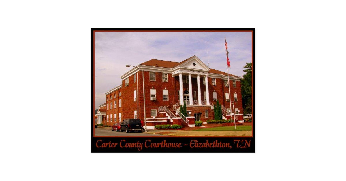 My Cake Art Elizabethton Tn : Carter County Courthouse - Elizabethton, TN Postcard Zazzle
