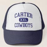 Carter - Cowboys - High School - Dallas Texas Trucker Hat