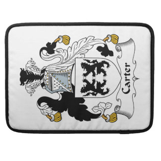 Carter Family Crest Sleeves For MacBook Pro