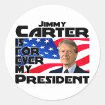 Carter Forever Round Sticker