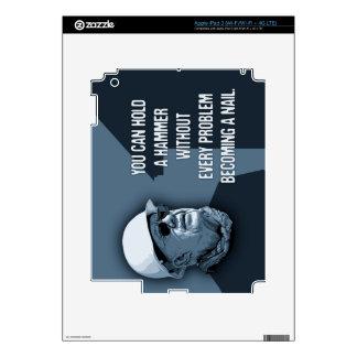 Carter Hammer Nail Decal For iPad 3