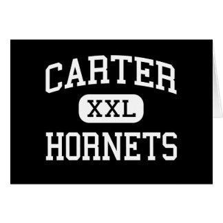 Carter - hornets - high - knoxville Kentucky Greeting Card