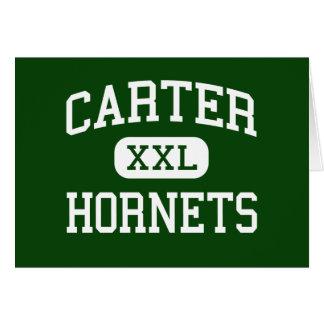 Carter - Hornets - High - Strawberry Plains Greeting Card