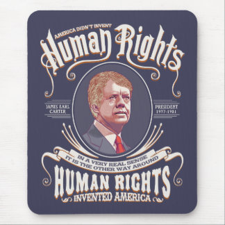 Carter - Human Rights Mouse Pad