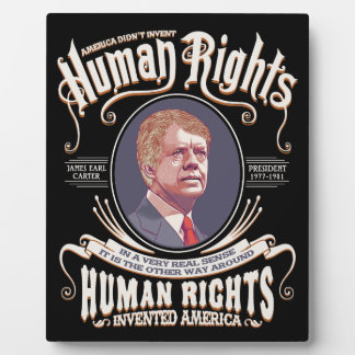 Carter - Human Rights Plaque