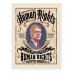 Carter - Human Rights Postcard
