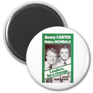Carter - Mondale 2 Inch Round Magnet