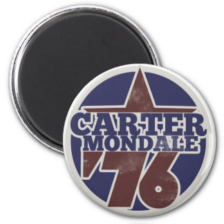 Carter Mondale 76 2 Inch Round Magnet