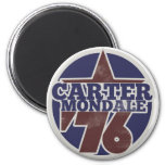 Carter Mondale 76 Fridge Magnet