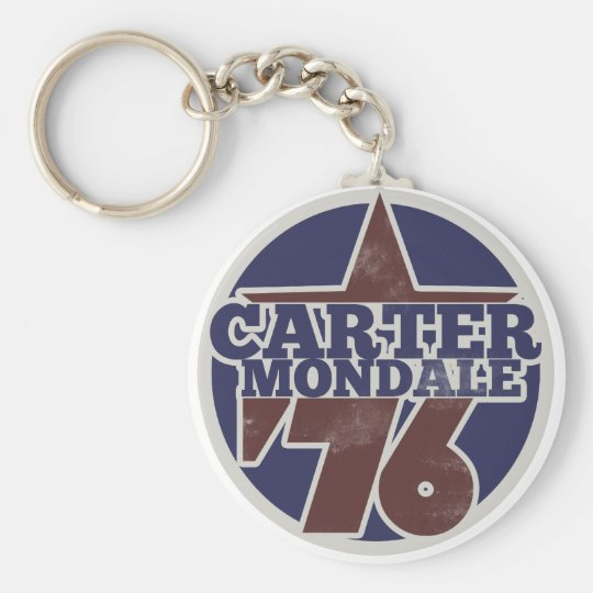 Carter Mondale 76 Keychain
