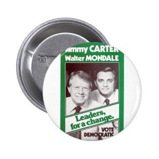 Carter - Mondale Button