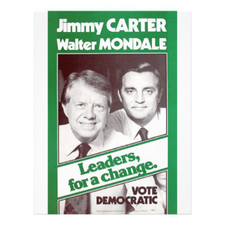 Carter - Mondale Flyer
