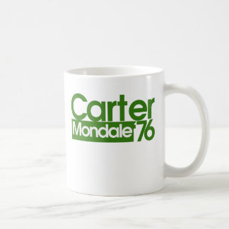 Carter Mondale Retro Politics Coffee Mug