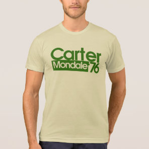 Carter Mondale Retro Politics T-Shirt