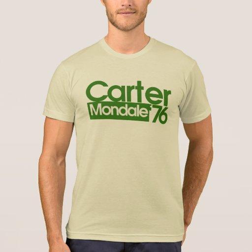 Carter Mondale Retro Politics T-shirts