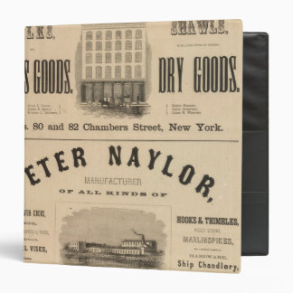 Carter, Quinan and Deforest Peter Naylor 3 Ring Binders