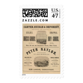 Carter, Quinan and Deforest Peter Naylor Postage
