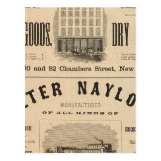Carter, Quinan and Deforest Peter Naylor Postcard