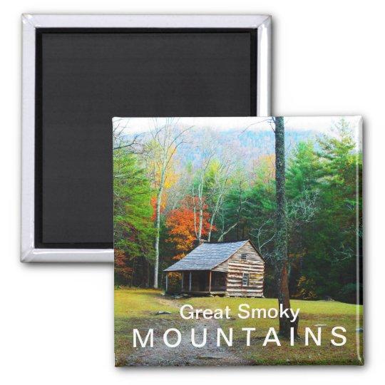 Carter Shields Cabin - Autumn colors Magnet