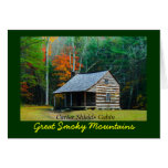 Carter Shields Cabin in Cades Cove Greeting Cards