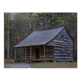 Carter Shields Cabin in The Great Smoky Mountains Postcard