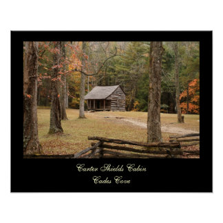 Carter Shields Cabin Posters