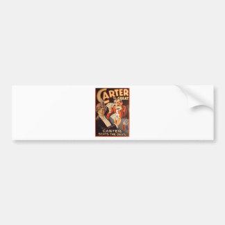 Carter the Great Bumper Sticker