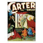 Carter The Great ~ Do The Dead Materialize? Greeting Cards