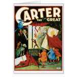 Carter The Great ~ Do The Dead Materialize? Cards