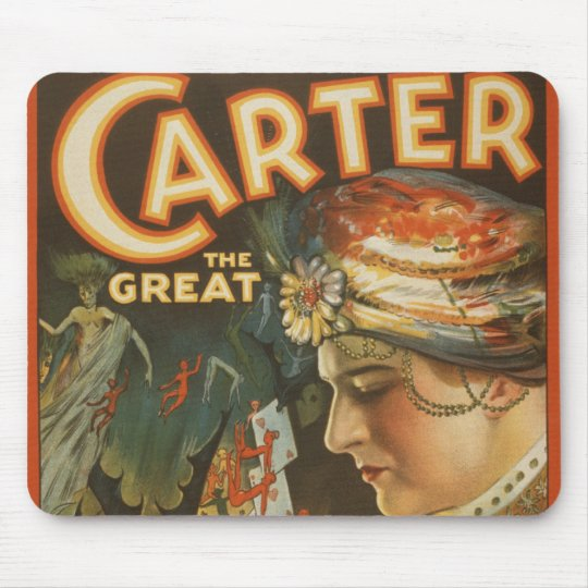Carter the Great - The World's Weird Wizard Mouse Pad