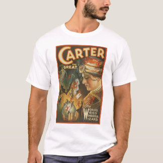 Carter the Great - The World's Weird Wizard T-Shirt