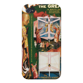 Carter The Great ~ Weird Wizard Vintage Magic Act iPhone 4/4S Case