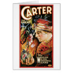 Carter The Great ~ Wizard Vintage Magic Act Cards