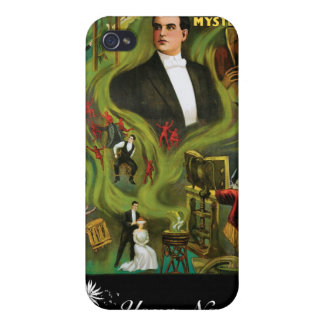 Carter The Mysterious ~ Vintage Magic Act iPhone 4 Cover