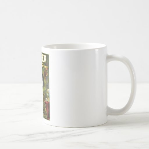 Carter The Mysterious ~  Vintage Magic Act Mugs