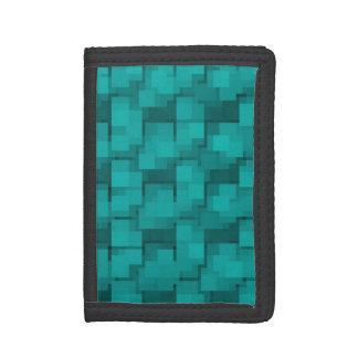 Cartera azul del mosaico de la aguamarina