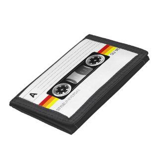 Cartera caliente de la cinta de casete del color