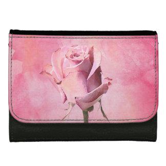 Cartera - color de rosa rosado de la acuarela