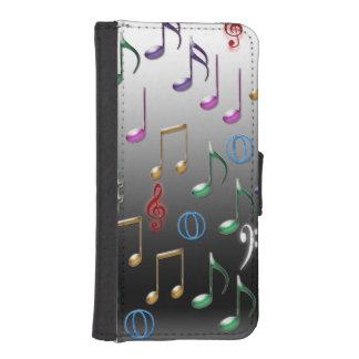 Cartera colorida del iphone del modelo de las fundas tipo billetera para iPhone 5